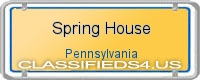 Spring House board